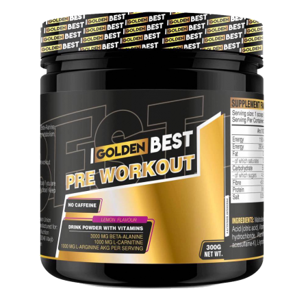 Golden Best Pre-Workout 300gr