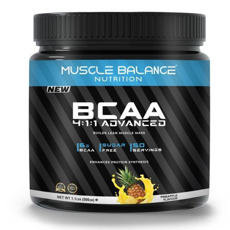 Muscle Balance Nutrition 4:1:1 Advanced Bcaa 500gr